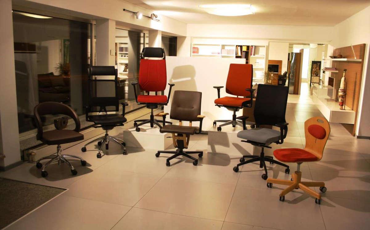 Ausstellung - Bürostühle