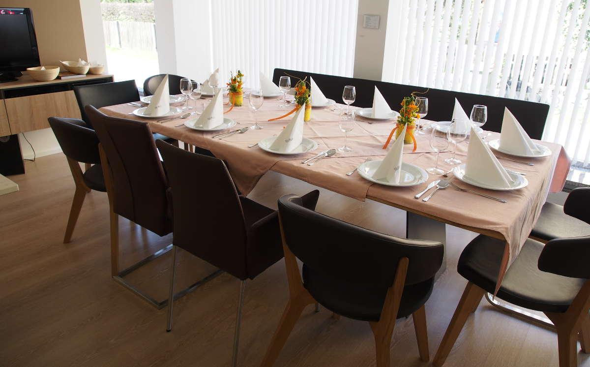 Der Tisch ist gedeckt...